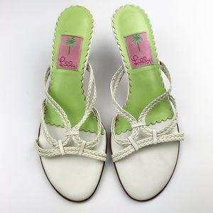 Lilly Pulitzer Kitten Heel Sandals